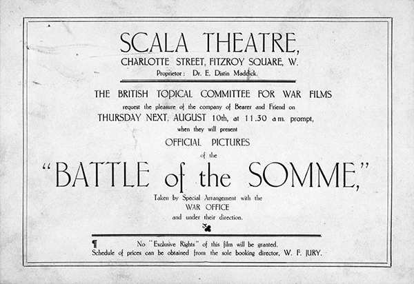 Battle of Somme Poster