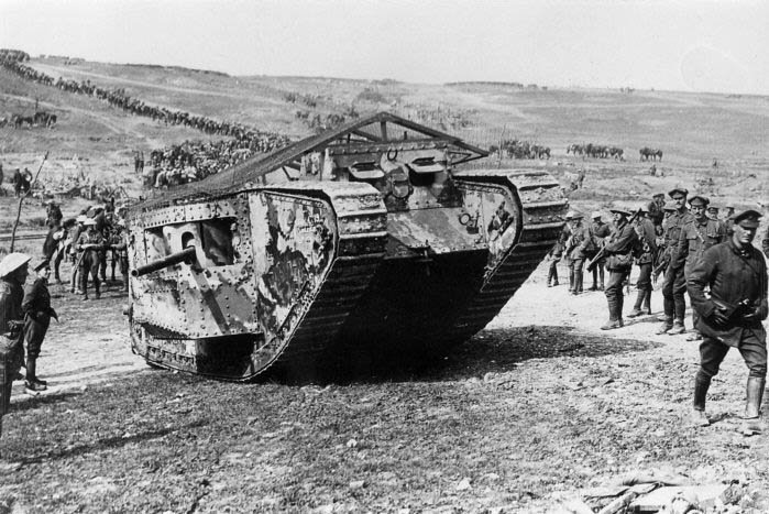 Battle of Flers Courcelette, Tank
